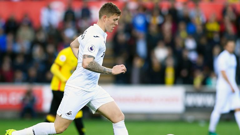 Swansea defender Alfie Mawson is keen to take on responsibility at on