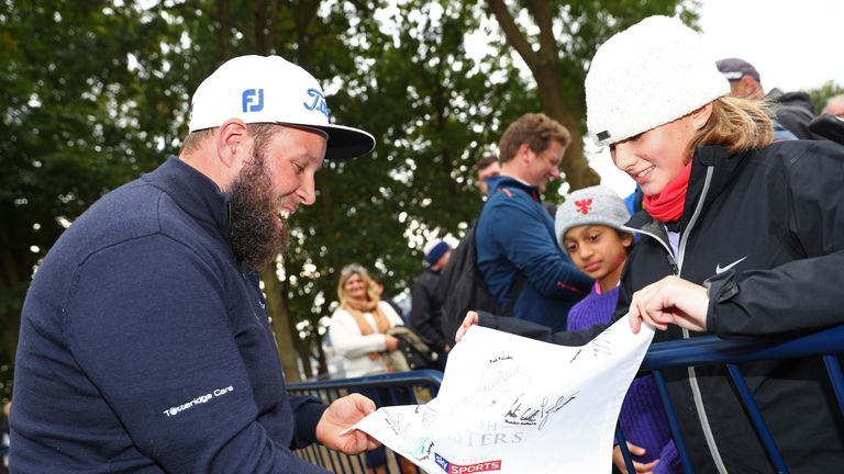 The Beef effect! Andrew Johnston could bring in thousands more people through the gates over the weekend