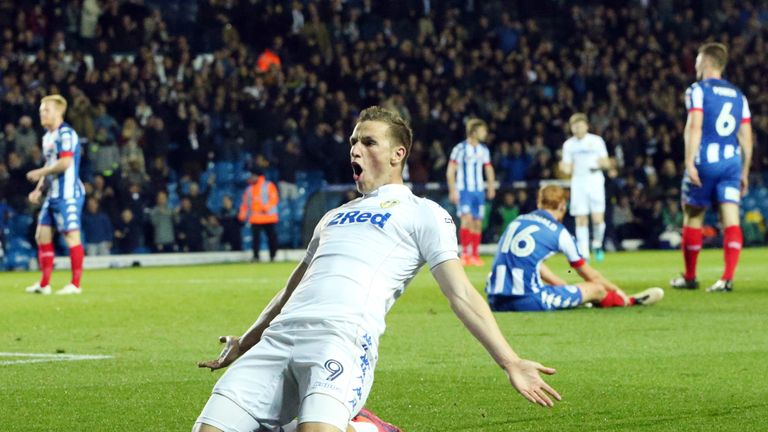Chris Wood put Leeds ahead in the first half