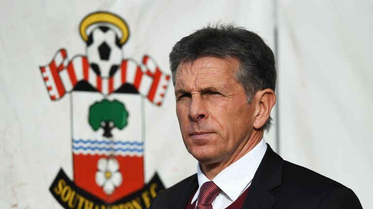 Claude Puel has urged his Southampton players to be calm against Inter Milan