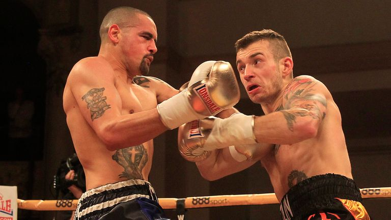 Craig Cunningham (left) predicts he will KO Anthony Ogogo