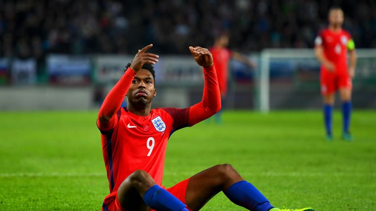 Daniel Sturridge was a frustrated figure up front