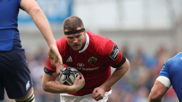 Donnacha Ryan will leave Munster at the end of the season and join former team-mate Ronan O'Gara at Racing 92