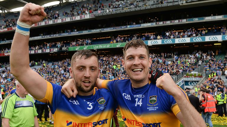 Tipperary duo James Barry (left) and Séamus Callanan have been nominated for All-Stars