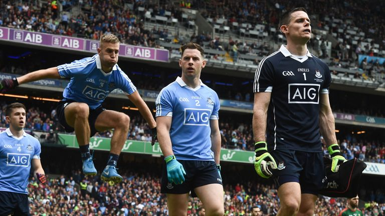 Dublin trio Jonny Cooper, Philly McMahon and Stephen Cluxton feature in Peter Canavan's team of the year