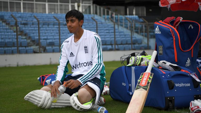 Haseeb Hameed became only the sixth teenager to play for England