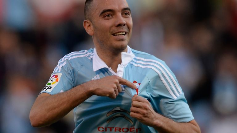 Celta Vigo's forward Iago Aspas has even broken into the Spain squad