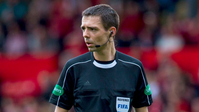 Kevin Clancy refereed last season's Scottish League Cup final