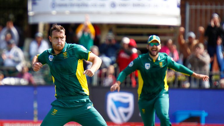 South Africa's bowler Kyle Abbott has quit international cricket