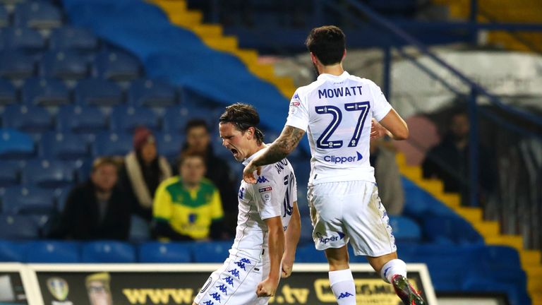 Striker Marcus Antonsson scored the first of Leeds' two equalisers