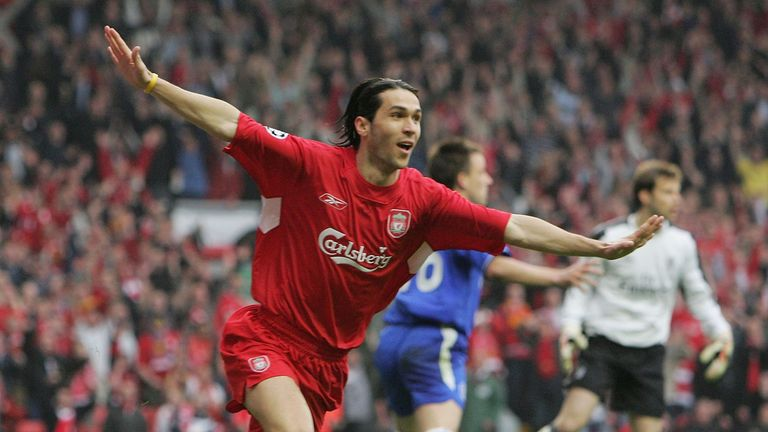 Garcia played for Liverpool for three seasons between 2004 and 2007