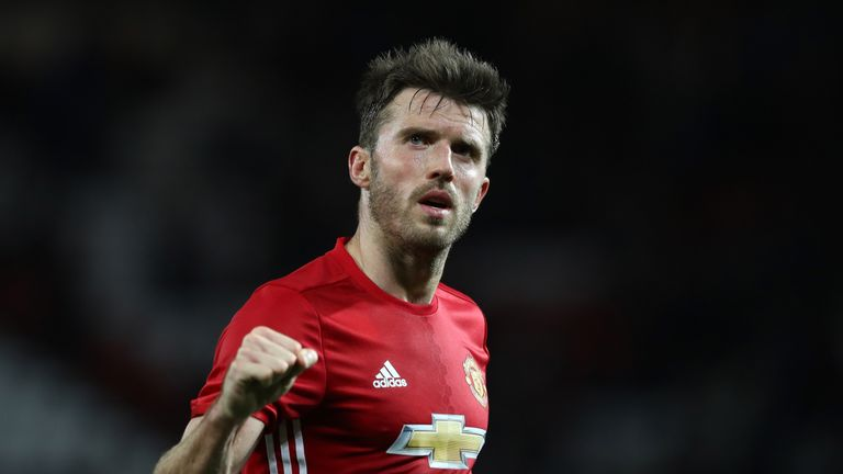 Michael Carrick hasn't tasted defeat in a Manchester United shirt this season