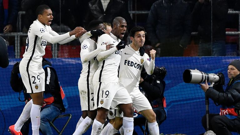 Monaco scored late to secure a 1-1 draw at CSKA Moscow