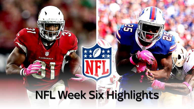 Highlights From All The Action In Week Six Across The Nfl
