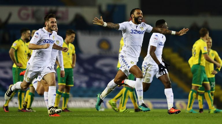 Leeds saw off Norwich at Elland Road in the EFL Cup last month