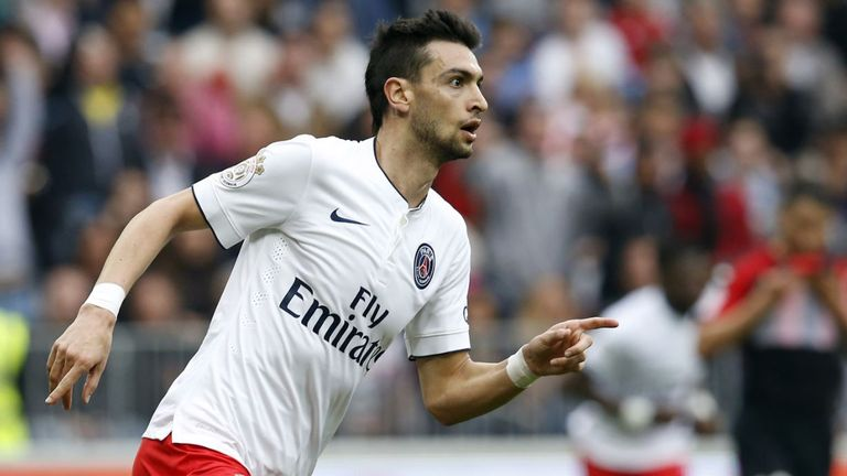 Javier Pastore could leave PSG this month
