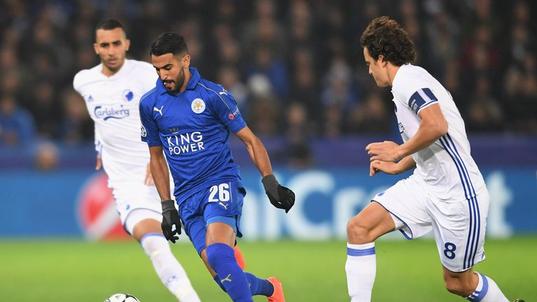 Leicester make Champions League record books and are in some illustrious company
