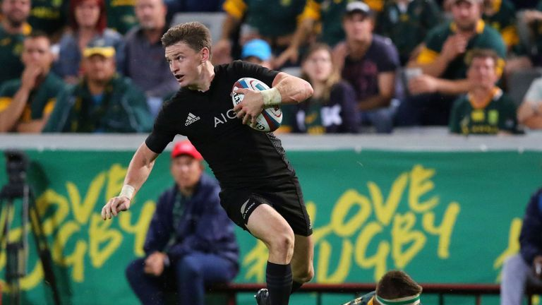 New Zealand equalled their own record with a comprehensive victory over South Africa earlier this month