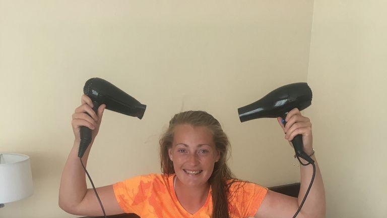 Hairdryer wattage draw