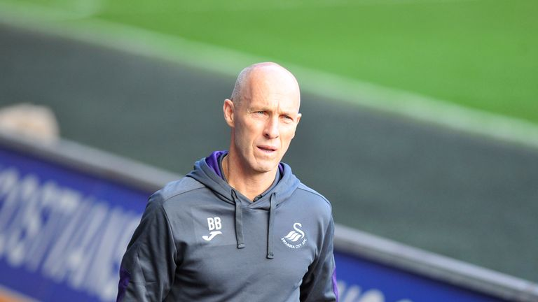 Swansea manager Bob Bradley says Flynn's role in January will be crucial