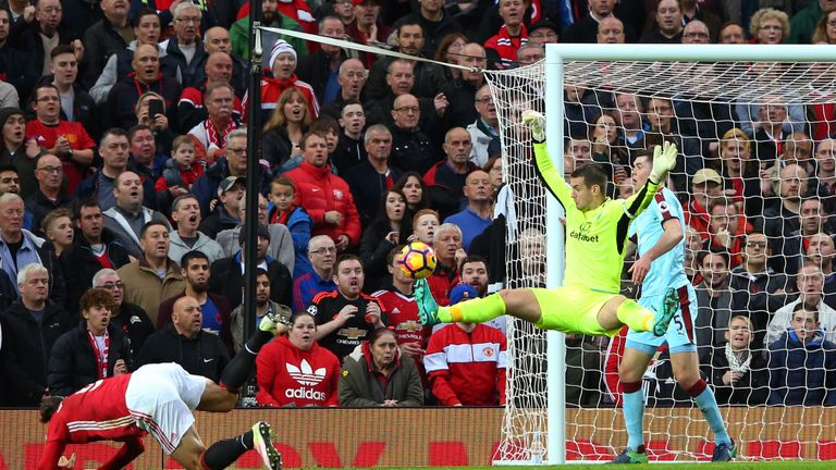 Heaton's 'starfish' save from Zlatan Ibrahimovic was a highlight