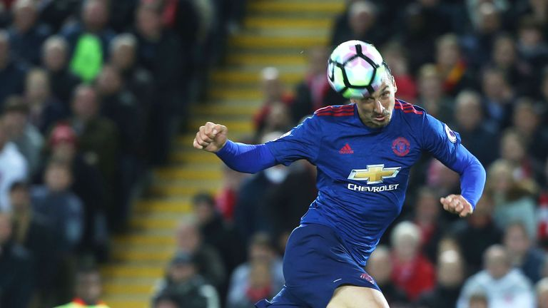 Zlatan Ibrahimovic wasted an excellent chance to score at Anfield