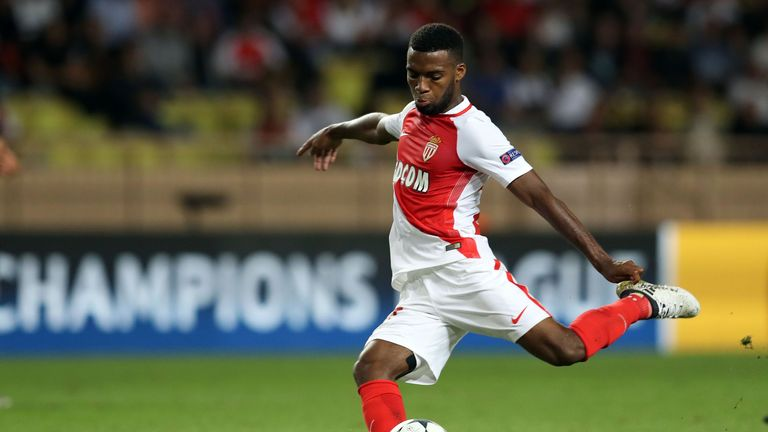 Thomas Lemar was on the scoresheet in Monaco's win