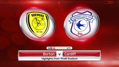 Burton 2-0 Cardiff