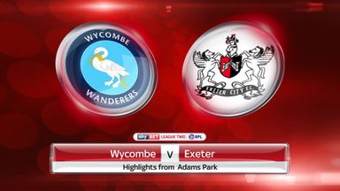 Wycombe 1-0 Exeter