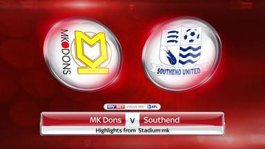 MK Dons 0-3 Southend