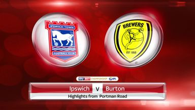 Ipswich 2-0 Burton