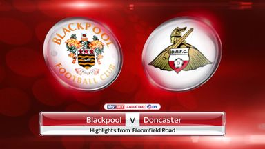 Blackpool 4-2 Doncaster