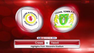 Crewe 0-1 Yeovil