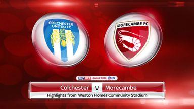 Colchester 2-2 Morecambe