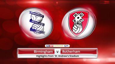 Birmingham 4-2 Rotherham