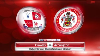 Crawley 0-0 Accrington