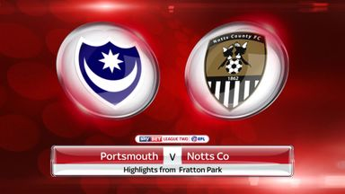 Portsmouth 1-2 Notts County