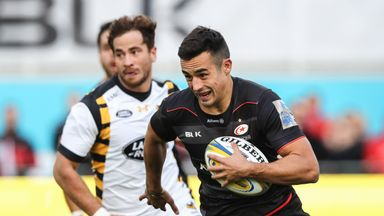 Saracens rising star Alex Lozowski has been drafted into the England squad