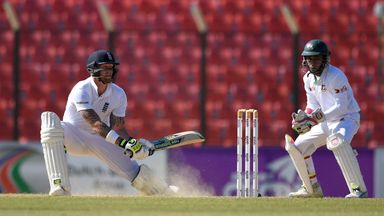 Ben Stokes guided England to a commanding position in Chittagong