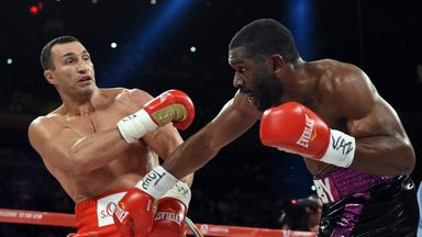 Bryant Jennings (right) is keen to fight in front of the British fans
