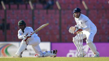 Sabbir Rahman hit an unbeaten 59 to give Bangladesh a chance of victory