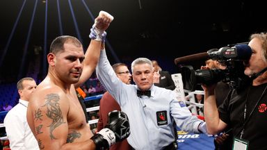 Eric Molina hopes to be confirmed as the next opponent for Anthony Joshua