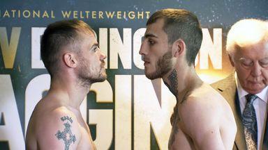 Frankie Gavin and Sam Eggington will settle local rivalry this Saturday