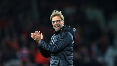 Jurgen Klopp says Liverpool have 'unfinished business' in the EFL Cup