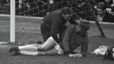 Gary Sprake was involved in an altercation with Bobby Gould in 1969