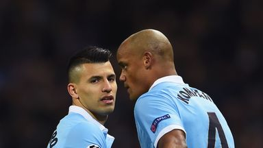 Pep Guardiola hit back at claims he is looking to sell Sergio Aguero and Vincent Kompany