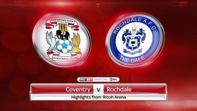 Coventry 2-0 Rochdale