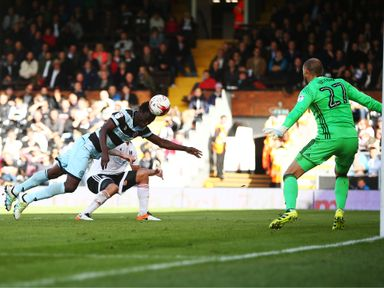 Idrissa Sylla heads home QPR's winner