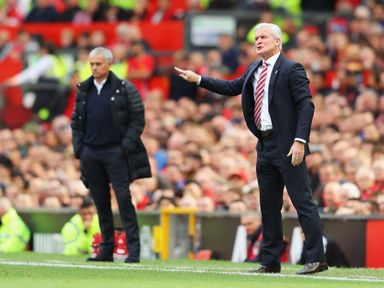Stoke host Manchester United on Saturday afternoon