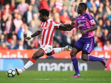 Stoke's Wilfried Bony has hinted at better to come this weekend